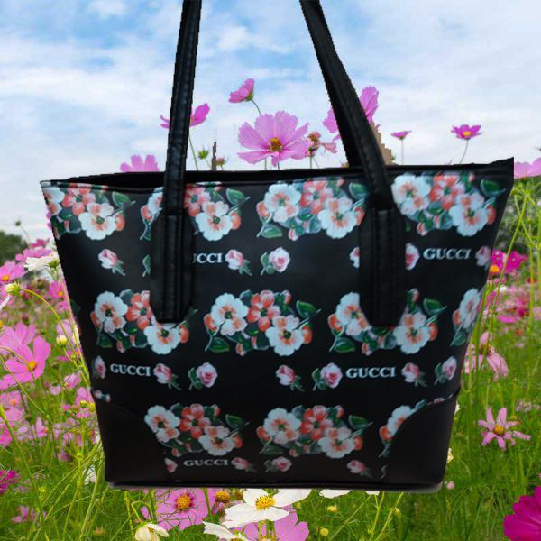 کیف دستی گل دار