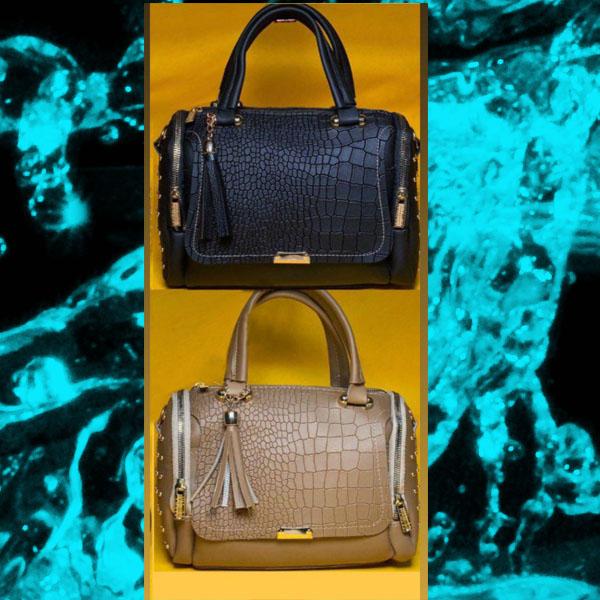 کیف زنانه پرچی صندوقی