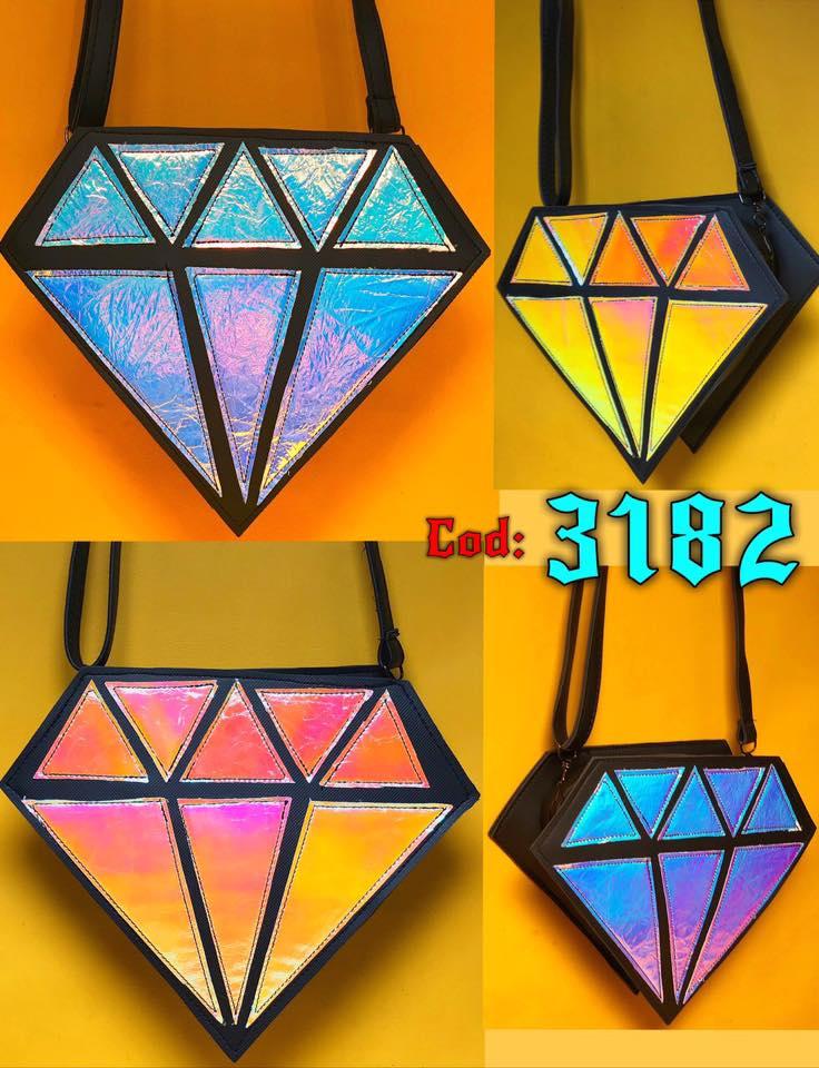 کیف طرح الماس