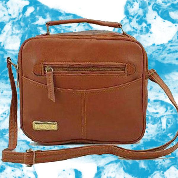 کیف پاسپورتی جلو زیپ دار