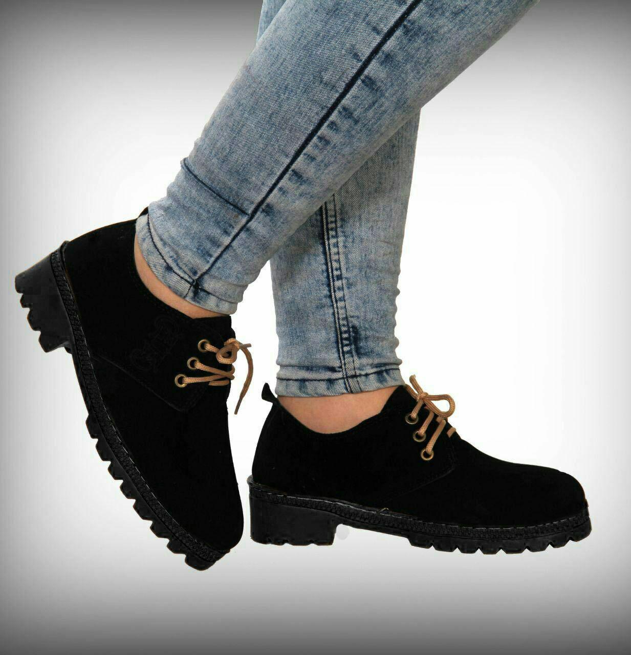 کفش پلیمر مشکی