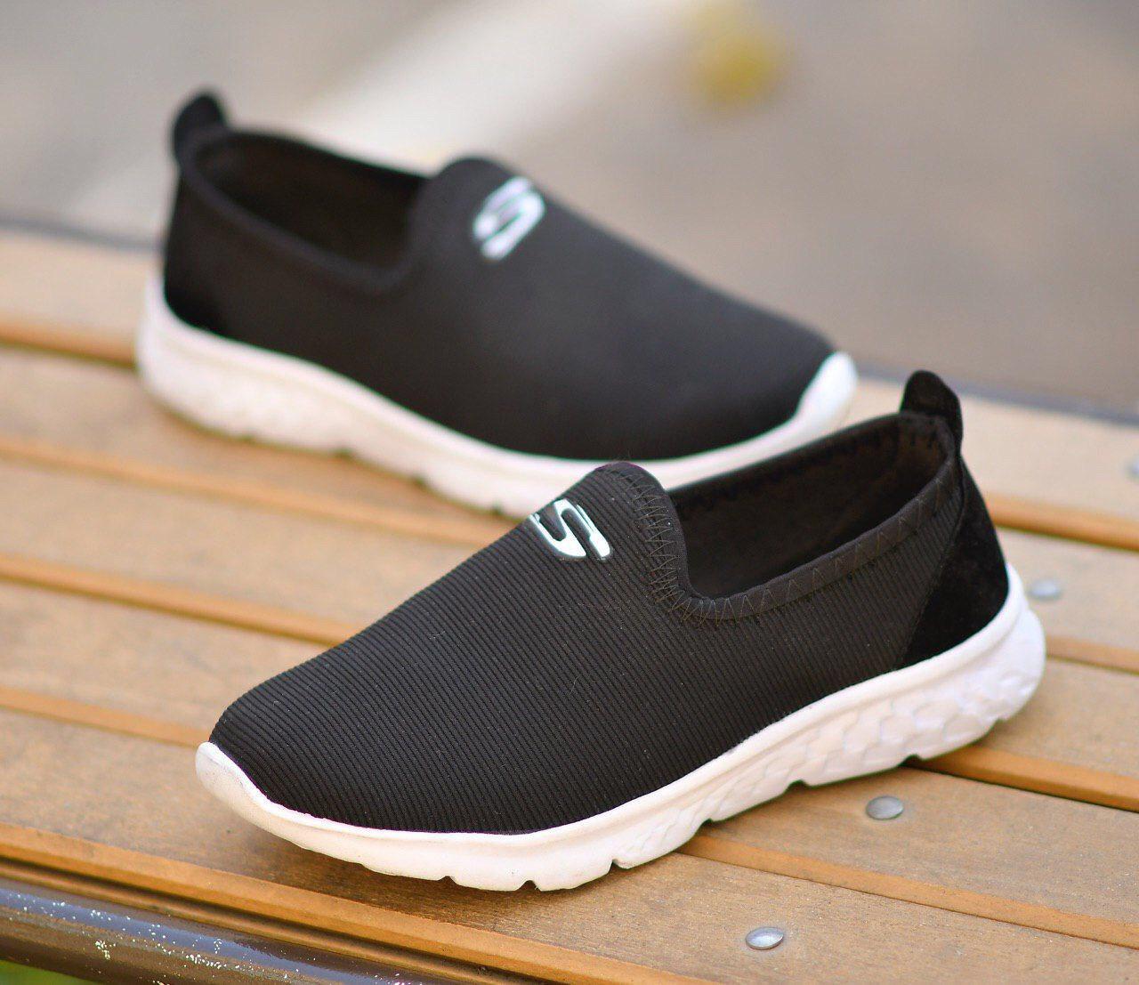 کفش کلاسیک با رویه بافت